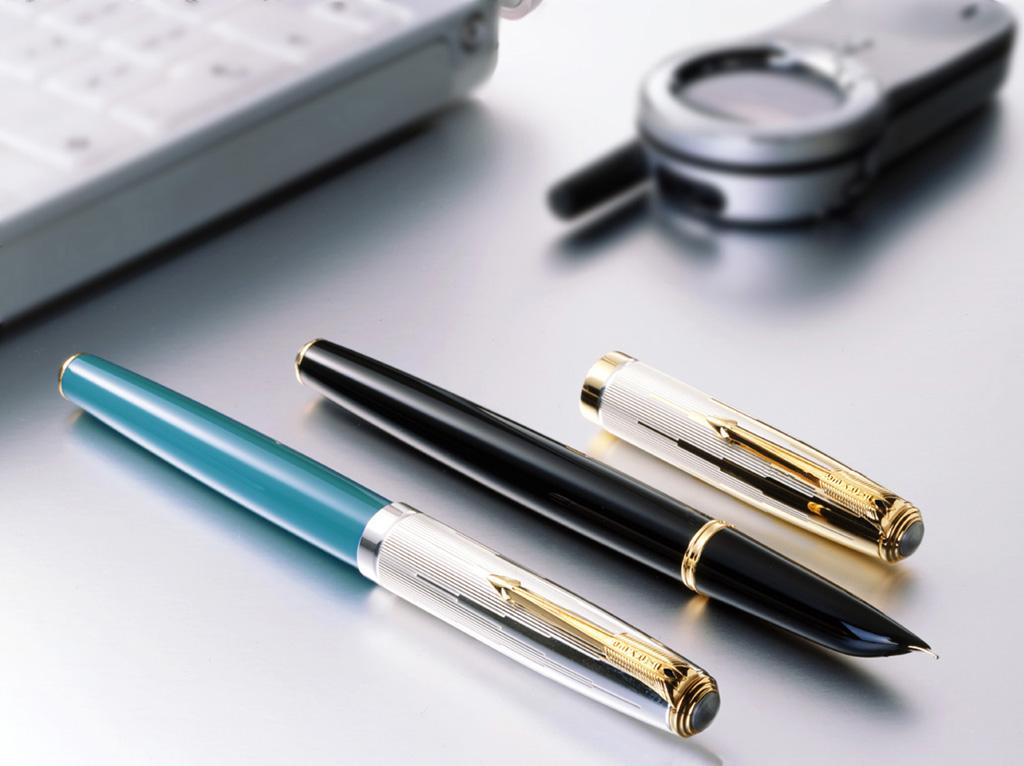 PARKER派克 10.3增加主流销售产品大小对比图 钢笔品牌历史,产高清图片