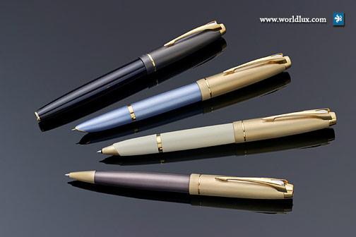 钢笔产品设计手绘